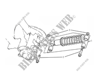 SUSPENSION ARRIERE pour GASGAS K 110 2007