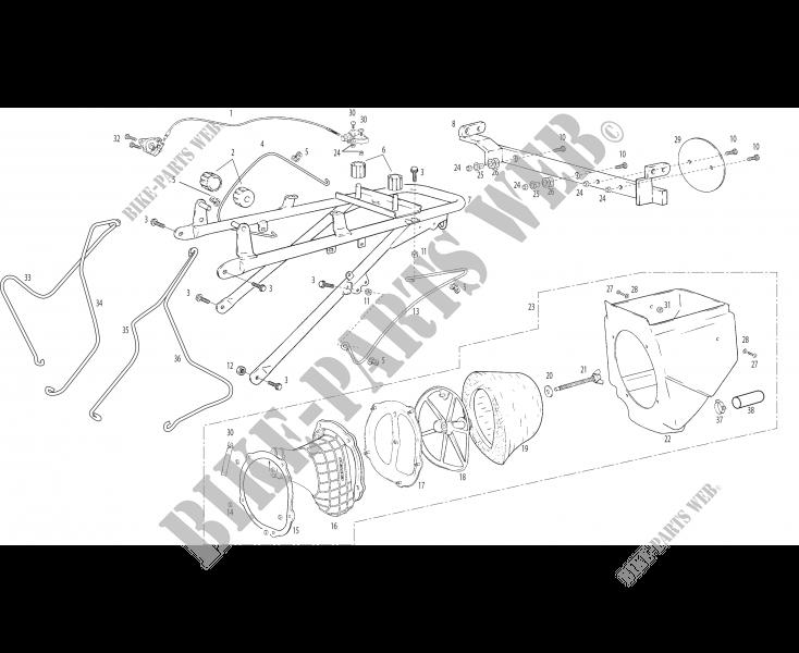 Green Filtre à air sport-qg041 pour GAS GAS Wild HP 450 à Partir De L/'année de construction 2007 filtre à air
