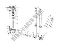 SUSPENSION AVANT pour GASGAS EC 300 2012